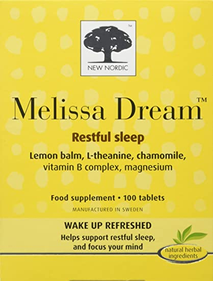 New Nordic Melissa Dream Tablets 1 X 100S