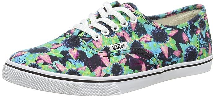 Vans Unisex-Erwachsene Authentic Lo Pro Sneaker Mehrfarbig (Floral Mix/Black/Turquoise)