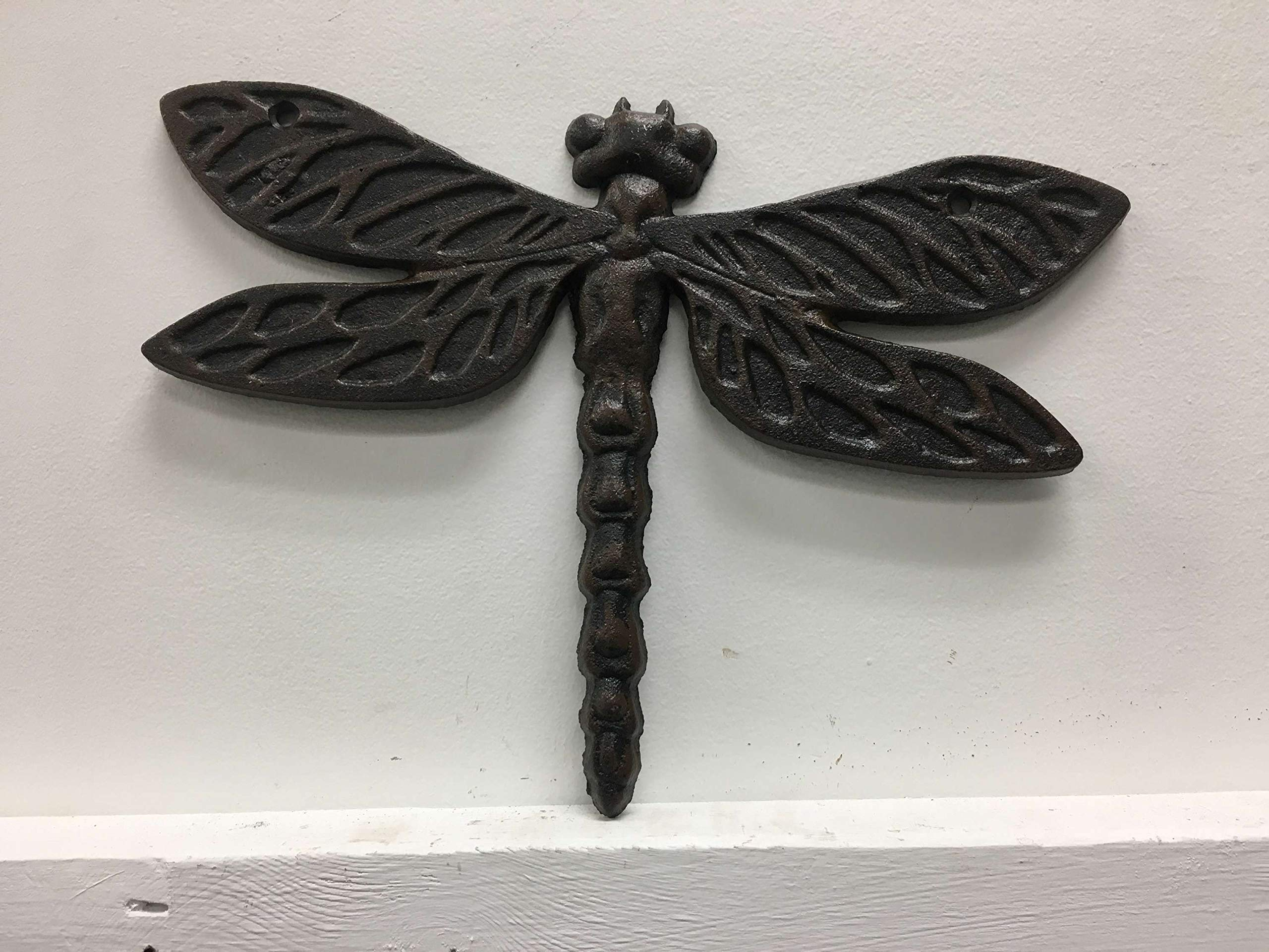 Dragonfly Cast Iron Wall Decor