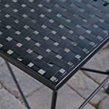 Christopher Knight Home Kent Outdoor Black Iron