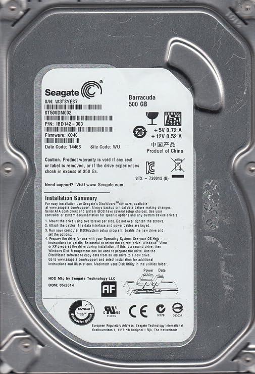 Amazon. Com: st31000528as, 9vp, tk, pn 9sl154-302, fw cc38, seagate.