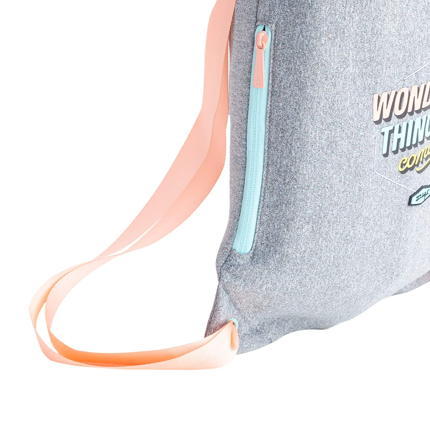 Wonderful Small Sack Bag-Wonderful Things Are Coming Talla /Única Mr