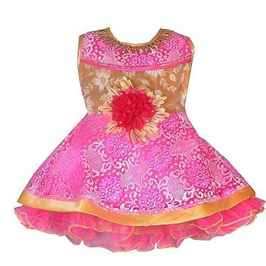 3246025544aa best wholesaler e8c0c 52d3d ark cute baby fashion frock girls bright ...