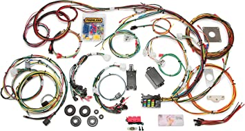 1966 mustang rear wiring amazon com painless 20120 direct fit mustang chassis harness  painless 20120 direct fit mustang