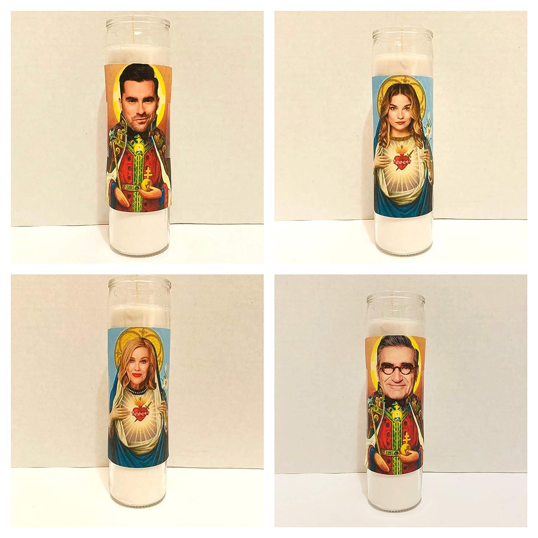 Schitts Creek Set of 4: Saint Moira David /& Alexis Rose Johnny Celebrity Parody