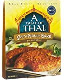 A Taste of Thai Spicy Peanut Bake, 3.5 oz Box, 6 Piece