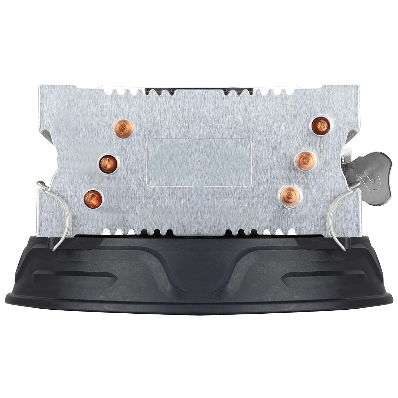 Aerocool VERKHO 3 Plus Color Negro Ventilador 120 mm, HCTT, Aletas de Aluminio, tecnolog/ía PWM 4-Pin, 3 heatpipes Disipador Gaming para Ordenador