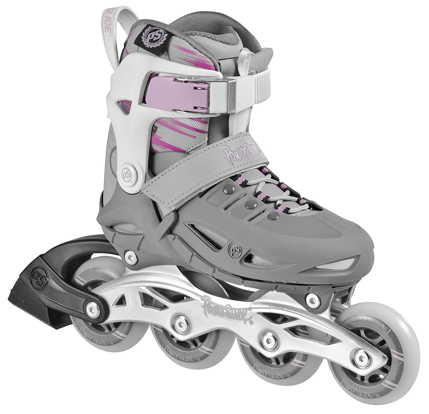 Powerslide Fitness Skates Phuzion Girls Patines línea color rosa talla