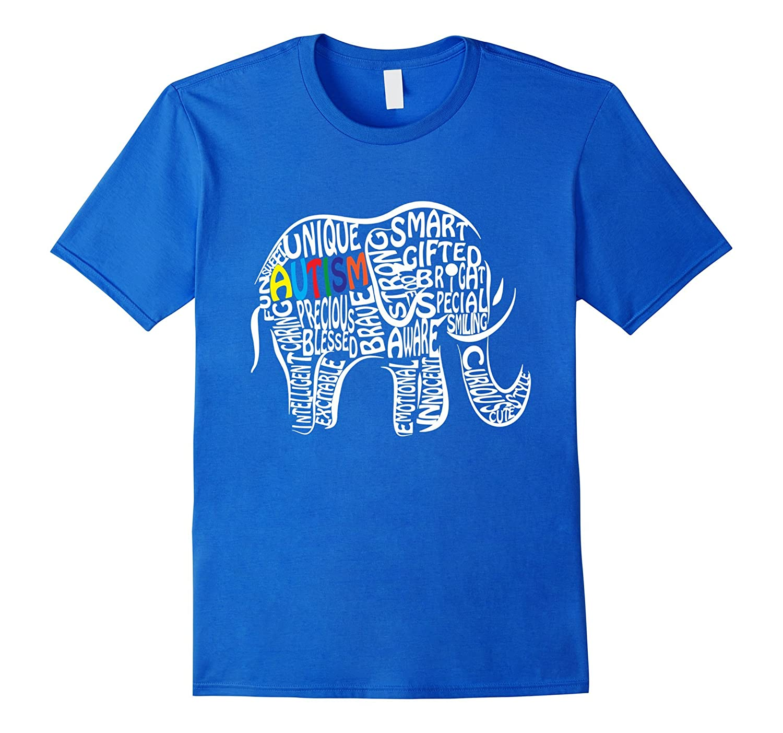 Autism Awareness Elephant T Shirt-Tovacu