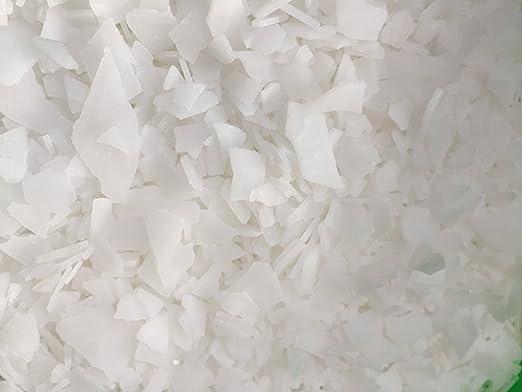 Magnesio en escamas original del mar de Zechstein, 1 kg – calidad certificada – cloruro de magnesio cristalizado – para aceite de magnesio / magnesio en ...