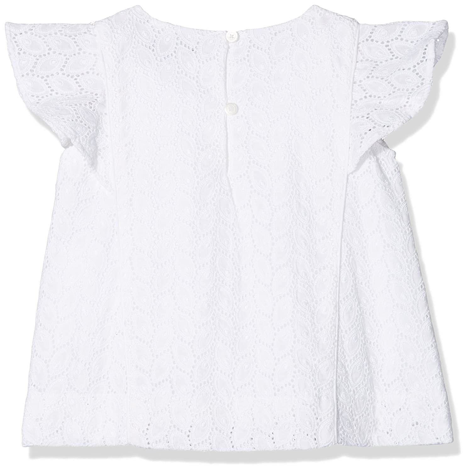 6e4465b52d8a58 Tommy Hilfiger Girl s C Broderie Anglais Top S S Vest  Amazon.co.uk   Clothing