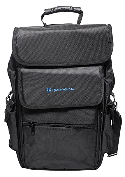0e15df75f60a Rockville 25-Key Case Soft Carry Bag Backpack For Impulse+Launchkey 25  Keyboards