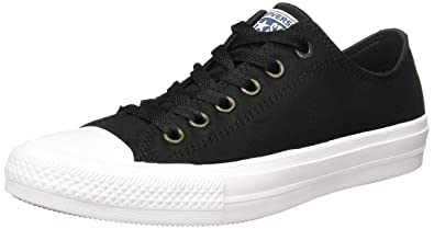 Converse Mens Chuck Taylor All Star Low Ii Sneaker Black White 4 D(M) US  Buy  Online at Low Prices in India - Amazon.in 38346b286
