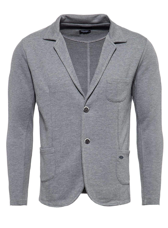KEY LARGO Herren Sweatsakko MSW Bombay Jacket grau 13 M