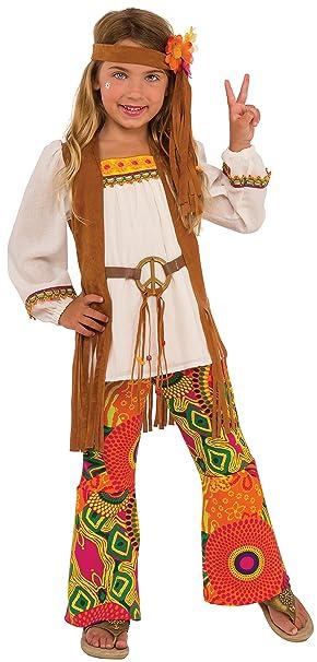 Rubies Costume Disfraz de Flor para niños, Multicolor, Large ...