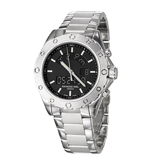 Raymond Weil 8400-ST-20001 - Reloj de caballero de cuarzo, correa de acero inoxidable: Raymond Weil: Amazon.es: Relojes