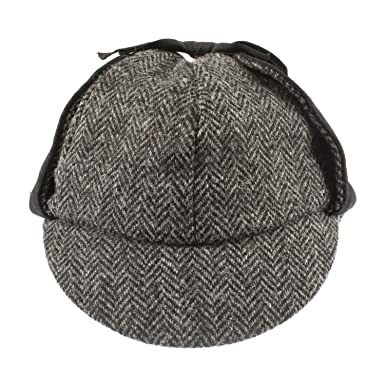 Failswortth Men S Mix Match Harris Tweed Lewis Cap Hat B0136vhday