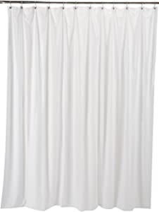 Ex-Cell Soft Sensation Shower Curtain Liner, White