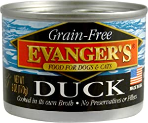 Evanger's Grain-Free Duck for Dogs & Cats