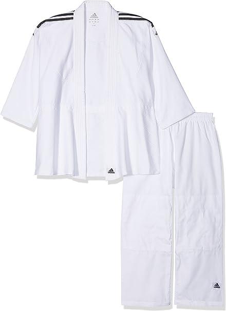 adidas Anzug Judo Uniform Club, brilliant white, 150, J350