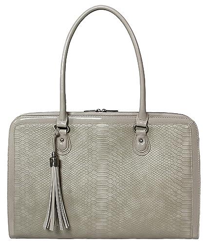 374da2291 BFB Laptop Bag for Women – 17 inch Computer Briefcase for Women Handmade  Luxury Vegan Leather Designer Stylish Travel Business Shoulder Messenger  Work Tote ...