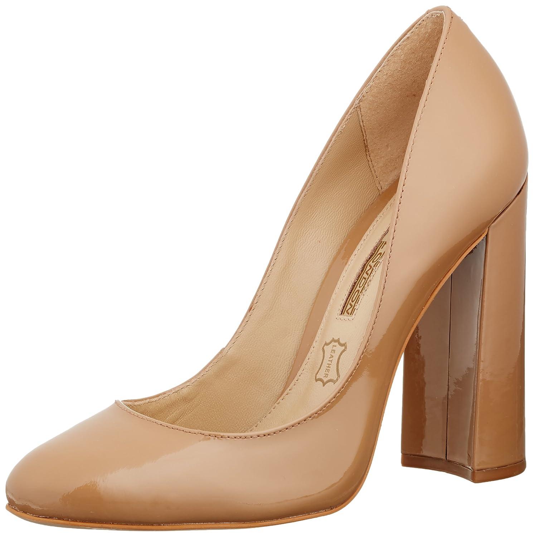 Womens Zs 6024-15 Minilizard Closed Toe Heels, Beige Buffalo