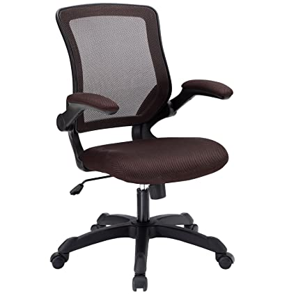 Dark Brown Office Chair   U0026quot;Edisonu0026quot; Colorful Office Chairs