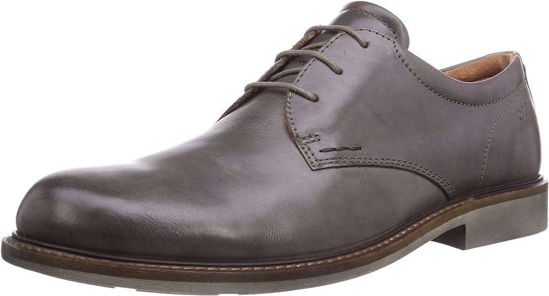 Cordones Marrón Con De Piel Ecco HombreColor Zapatos Findlay WH2YI9ED