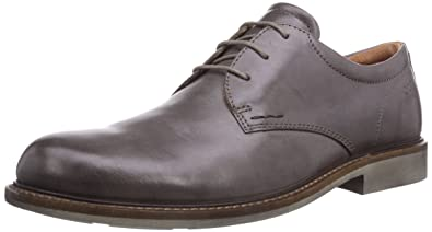 ECCO Men's Findlay Tie Oxford, Dark Clay, 45 EU/11-11.5 M