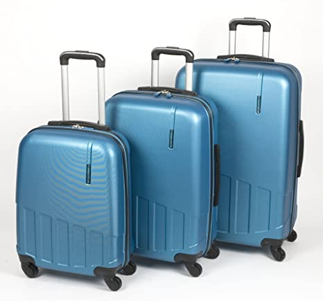 Valisa Cliff - Set 3 trolleys (Azul)