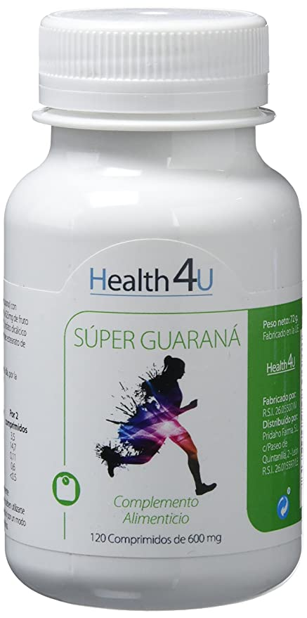 H4U - H4U Super Guaraná 120 comprimidos de 600 mg