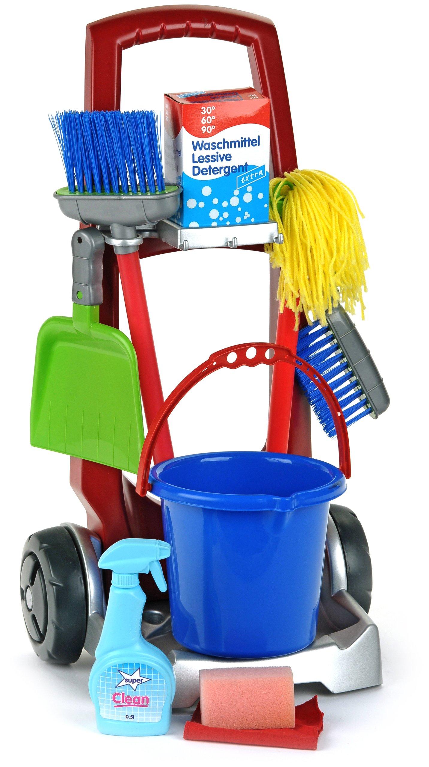 Theo Klein Cleaning Trolley 400940266588 Ebay