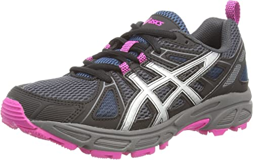 ASICS Gel-Trail-Tambora 4 - Zapatillas de Trail Running para Mujer, Color Negro (Black/Silver/Black 9093), Talla 44: Amazon.es: Zapatos y complementos