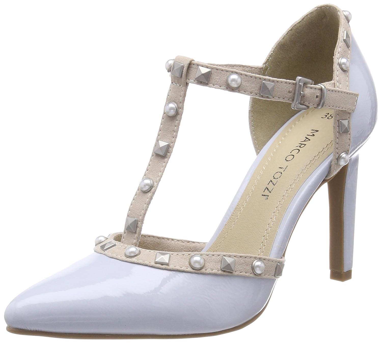 Marco Tozzi 24412, Zapatos con Tacon y Tira Vertical Para Mujer 38 EU