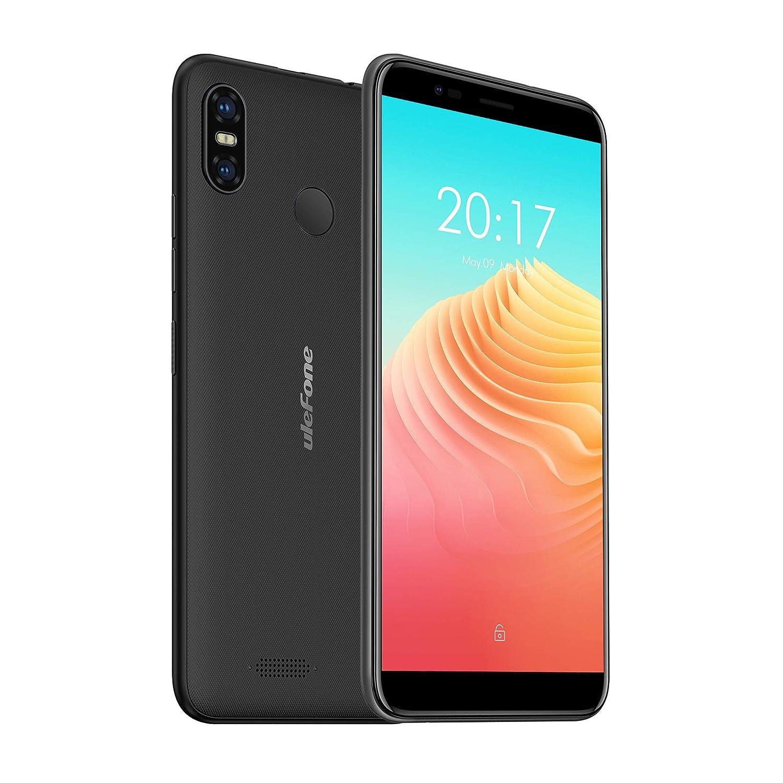 Ulefone S9 Pro, Smartphone Libre 4G, Android 8.1, Portátil, Pantallla Grande 5.5 Pulgadas, 2GB+16GB, Doble SIM, Desbloqueo Facial y Desbloqueo de Huellas Digitales, Batería 3300mAh (Negro)