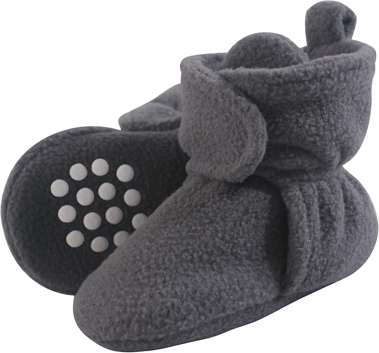 Luvable Friends Unisex Baby Cozy Fleece Booties: Clothing