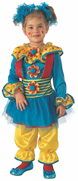Rubie's Dotty The Clown Child's Costume, Medium