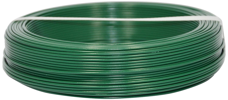100 m 3,2 mm Corderie Italiane 002014102 Fil de fer plastifi/é Vert