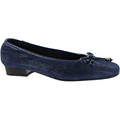 Riva Provence Damen Fisch Ballerina Schuhe / Damen Schuhe (42 EUR) (Marineblau) PoWDC