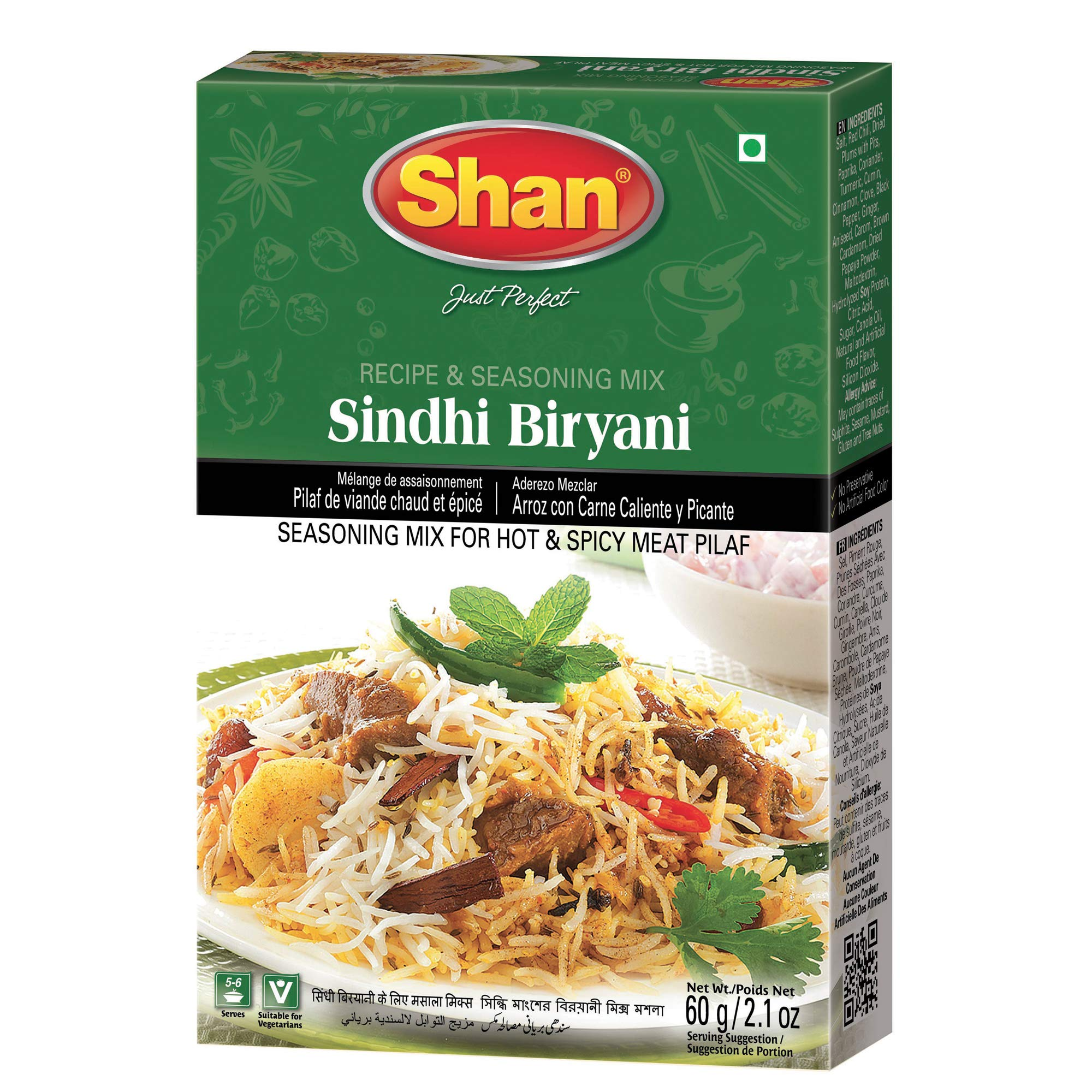 Shan Masalaydar Sindhi Biryani Mix - 65g