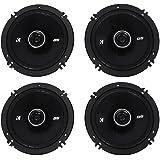 """4) Kicker 43DSC6504 6.5"""" 240 Watt 2-Way 4-Ohm Car Audio Coaxial Speakers DSC6504"""