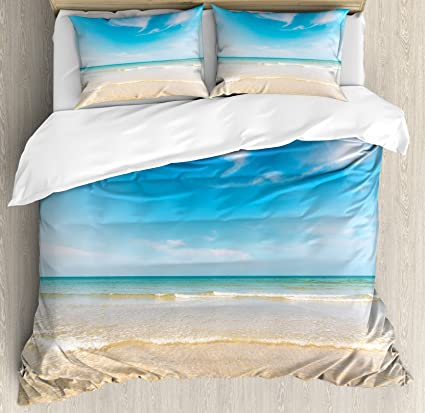 ocean turtle dp pattern double bedclothes real duvet print bedding sea cover beautiful effect lifelike set l