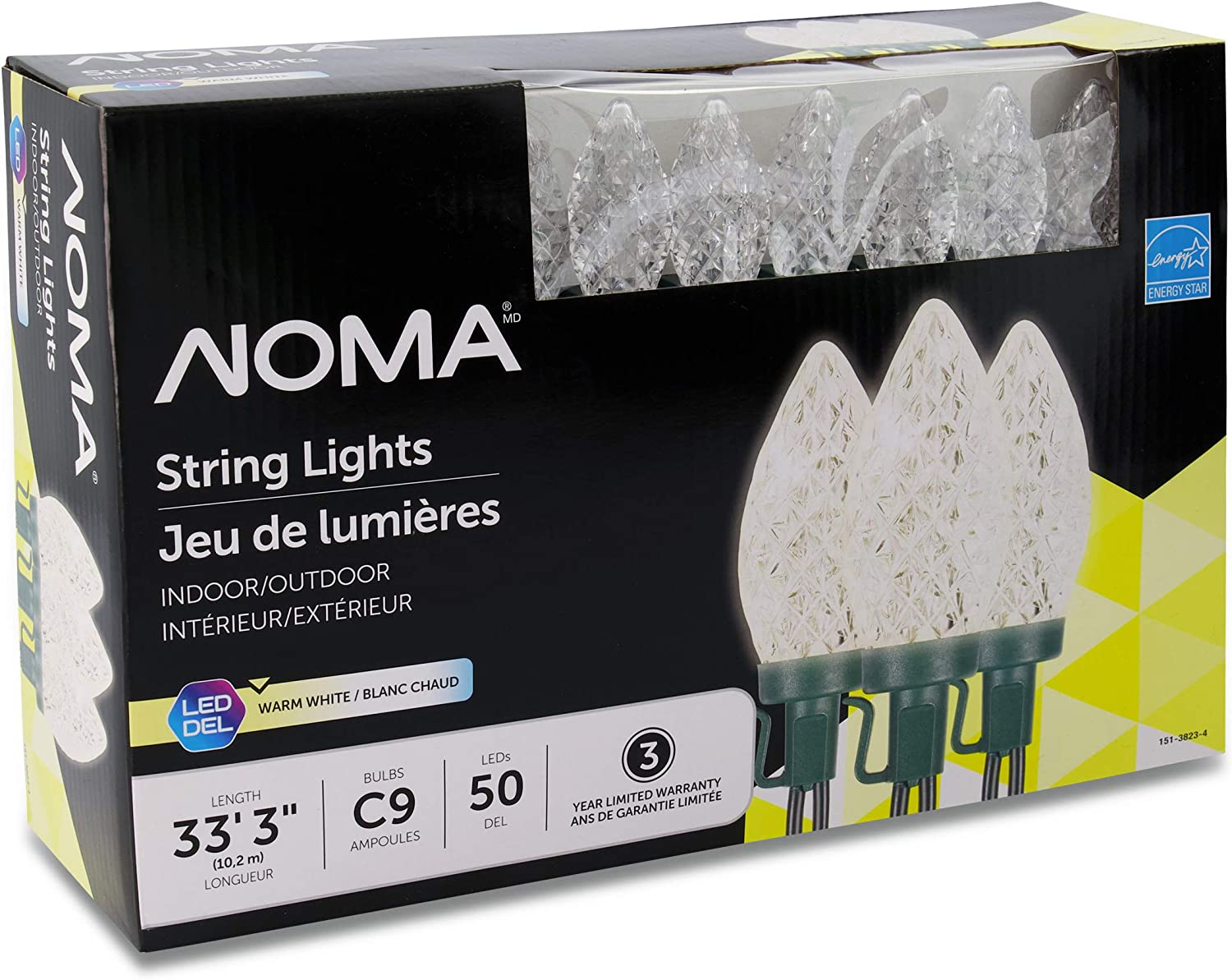 """NOMA LED Christmas Lights 