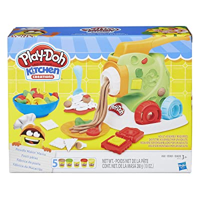 Play-Doh Noodle Makin Mania Set: Toys & Games