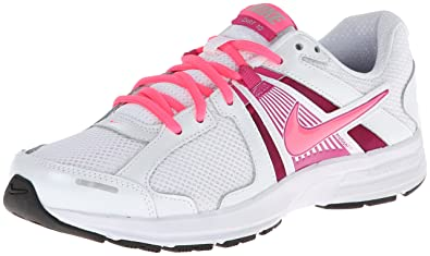 Nike Dart 10 Womens Wide Width Running Sneakers Shoes White Size 8.5
