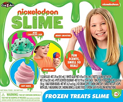 Nickelodeon Frozen Treats Slime Toy Multicolor