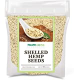 Healthworks Shelled Hemp Seeds Canadian (32 Ounces / 2 Pound) | Premium & All-Natural | Contains Omega 3 & 6, Fiber and…