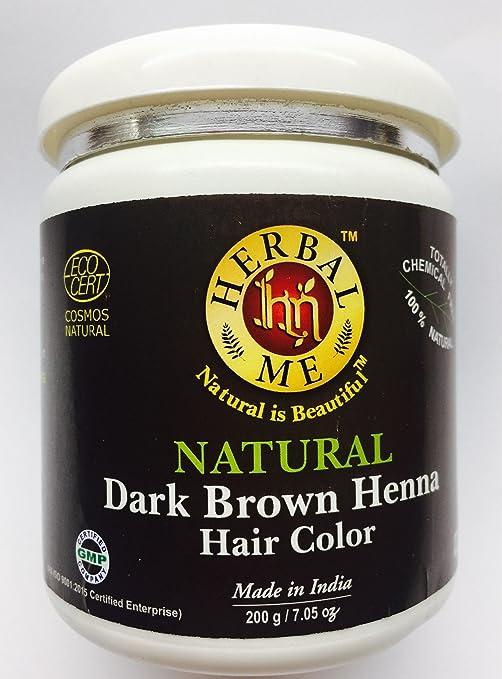 Buy Herbal Me Henna Chestnut Brown Hair Color 200gm Online At Low