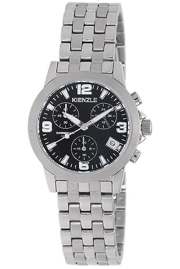Kienzle Kienzle Klassik Sport V81092543580 - Reloj analógico de mujer de cuarzo con correa de acero
