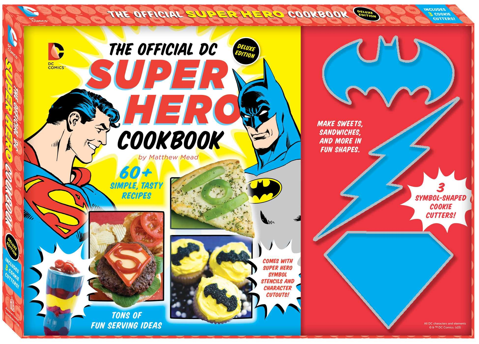 The Official DC Super Hero Cookbook Deluxe Edition (14) (DC Super